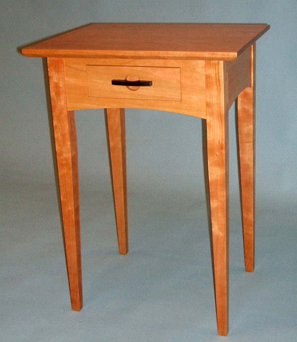 Moran Woodworks Tables - Natural cherry side table